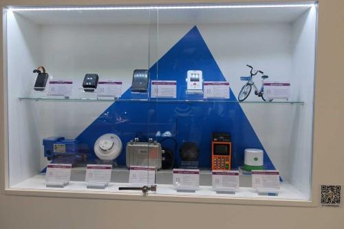 写真1 UNISOCの展示