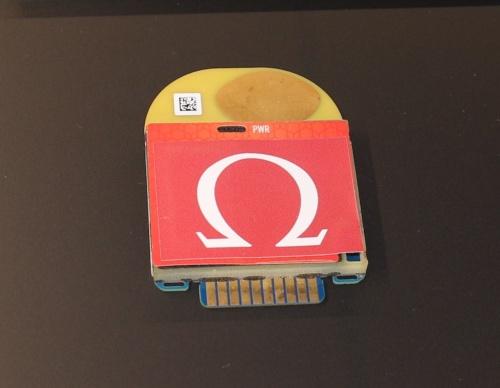 スイスのオメガタイミングが陸上競技向けに開発したモーションセンサー