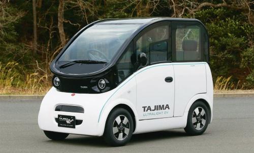 図3 出光興産とタジマモーターコーポレーションが開発中の超小型EV