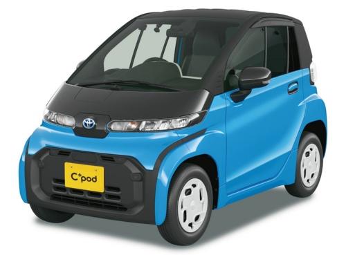 図4 トヨタ自動車の超小型EV「C<sup>+</sup>pod」