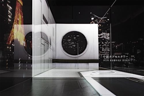 インスタレーション「Power of Scale(パワー・オブ・スケール)」。18年4~9月開催の六本木ヒルズ・森美術館15周年記念展「建築の日本展:その遺伝子のもたらすもの」に出展。映像とレーザーファイバーを用い、様々な建築空間のスケールを実寸で体験可能にした(写真:日経クロステック)