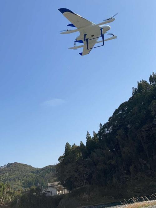 エアロセンスの垂直離着陸型固定翼ドローン「エアロボウイング」