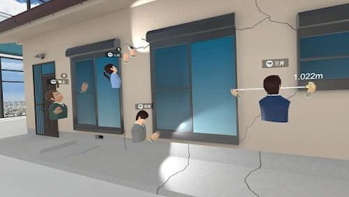 VR(仮想現実)を活用した家屋の損害調査研修
