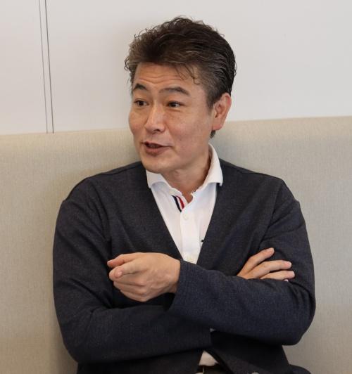 建設技術研究所東京本社都市部長の桂謙吾氏。1969年生まれ。92年に建設技術研究所に入社、大阪支社道路本部技術第2部に配属。2011年4月に九州支社道路・交通部次長、18年4月に同部部長、20年4月から現職(写真:日経クロステック)