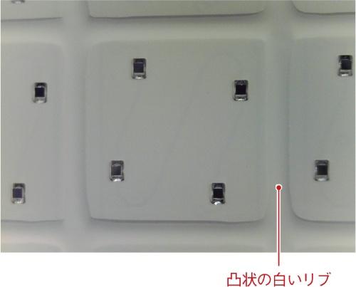 (b)1ブロックの拡大写真