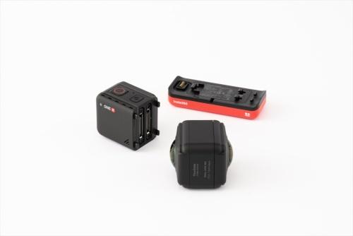 レンズ、コア、バッテリーと分離でき、用途に応じてレンズやバッテリーを交換できる