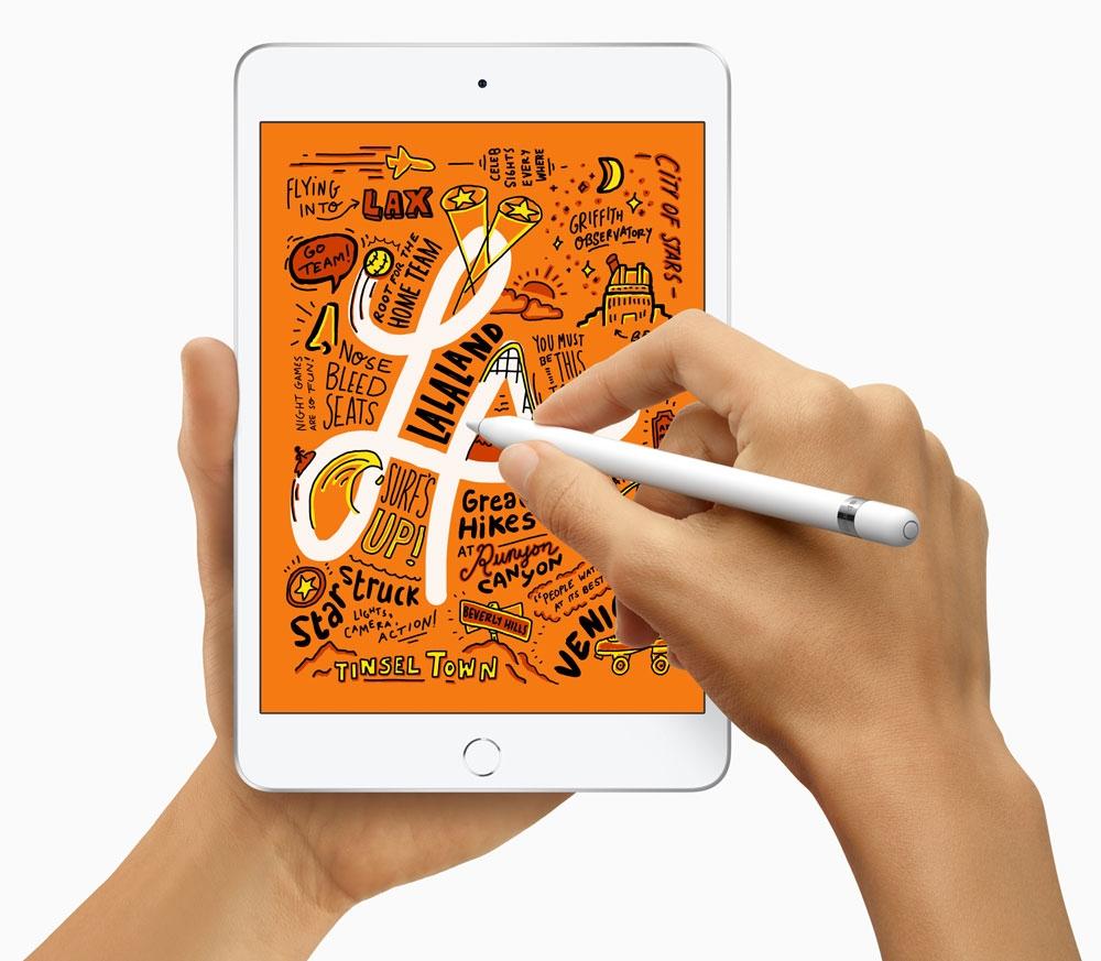 iPadシリーズでは「Apple Pencil」を使った手書き入力が利用できる(出所:Apple)