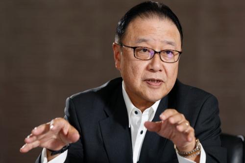 桜田 謙悟(さくらだ・けんご)氏 SOMPOホールディングス グループCEO(最高経営責任者)社長