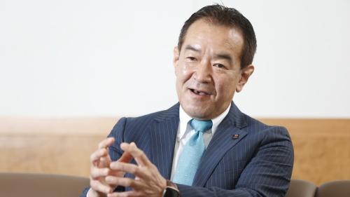 損害保険ジャパンの浦川伸一取締役専務執行役員。システム子会社SOMPOシステムズの会長も務める