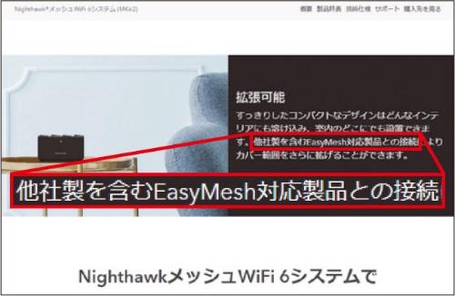 メッシュWi-Fiの多くは独自方式