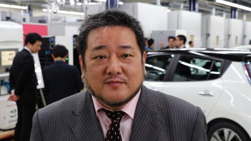 CHAdeMO協議会の吉田誠事務局長。吉田氏は日産自動車に勤めており、日産のEVや電池関連の仕事に携わっている人物だ(写真:CHAdeMO協議会)