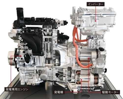 図1 「e-POWER」の外観