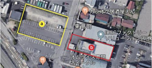 図3 新工場と新本社屋の敷地