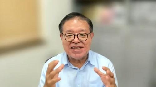 慶応義塾大学の村井純教授。「日本のインターネットの父」とも呼ばれる