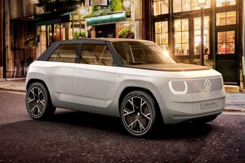 図1 VWが発表したコンセプト車「ID. LIFE」