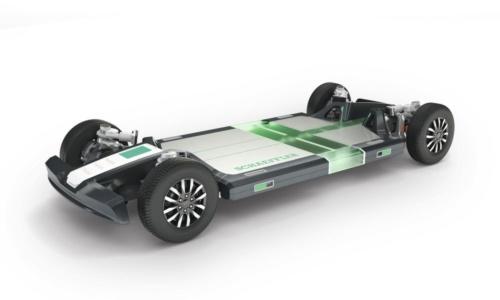 図1 シェフラーの新しいモビリティー向けモジュラー型プラットフォーム「ローリングシャシー」