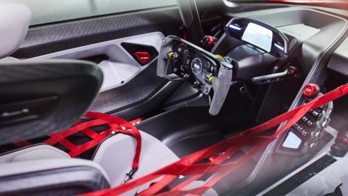 Mission Rの内装(出所:Porsche)