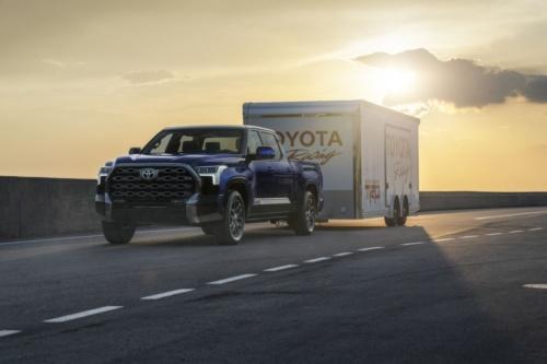 図1 トヨタ自動車の新型ピックアップトラック「Tundra」