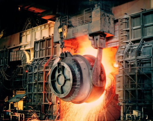 図1 デジタルツイン/CPSには厳しい製鉄工程
