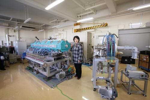 組み立て中のRANSの2号機。2017年3月に撮影(写真:理化学研究所)