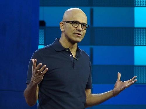 マイクロソフトのサティア・ナデラCEO