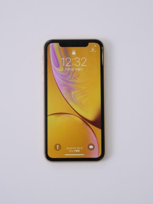 2018年10月26日発売の「iPhone XR」