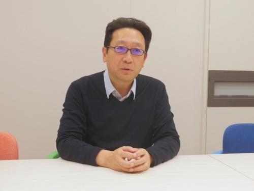 三井物産経営企画部の三浦正彦部長補佐