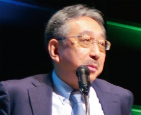 トヨタ自動車の元理事で現在は技術研究組合リチウムイオン電池材料評価研究センター(LIBTEC)の常務理事を務める石黒恭生氏