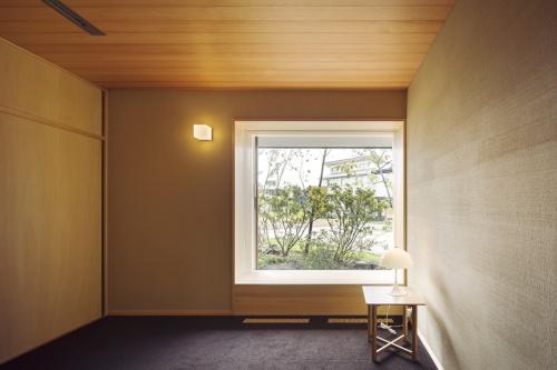 〔写真4〕部屋に応じたサッシを採用