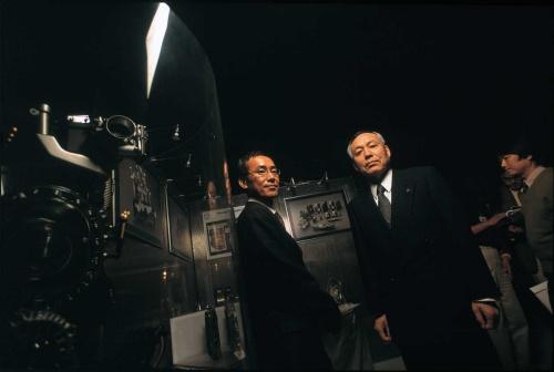 左から田島誠司、羽山信宏