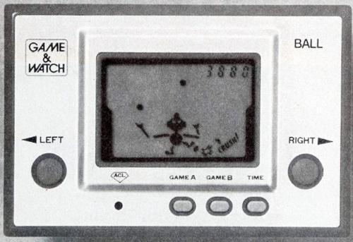 図2 1980年に発売した携帯型ゲーム機