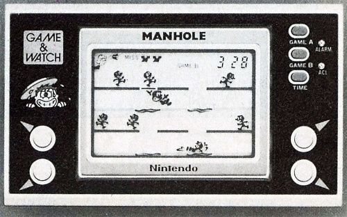 図1 ゲーム&ウォッチを1980年に発売