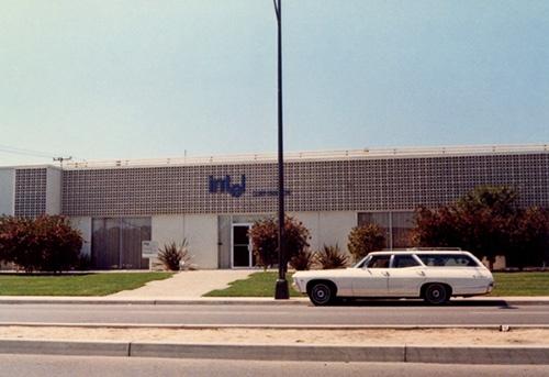 図1●カリフォルニアのマウンテンビュー市にあった1969年頃のインテル本社