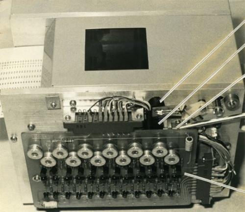 図1 電卓の試作器に使用したカードリーダー