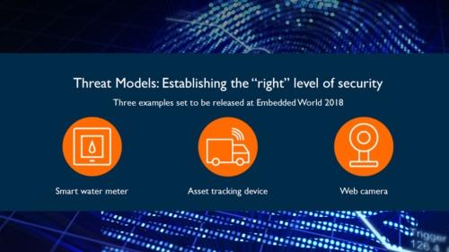3つのIoT機器向けの「TMSA(Threat Models and Security Analyses)」ドキュメントをリリースする。Armのスライド