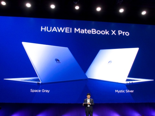 写真2●MateBook X Proの本体カラー