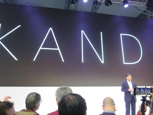 ソニーが追求するユーザー体験を「KANDO(感動)」という日本語でアピール