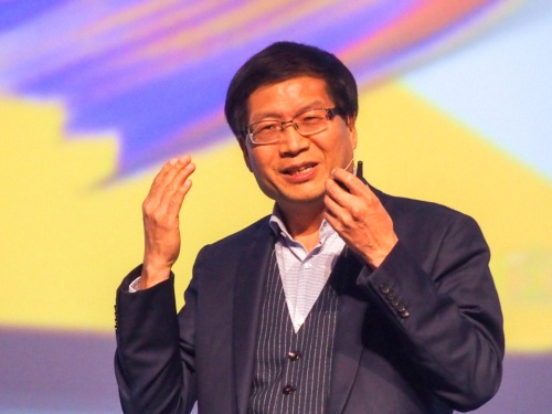 写真2●ASUSTeK ComputerのCEOであるJerry Shen氏