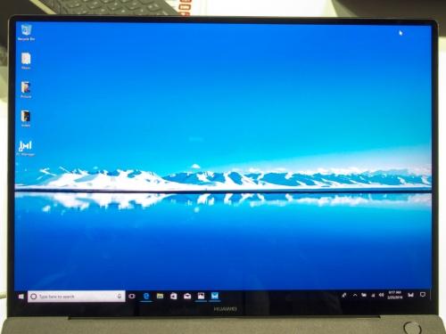 写真2●新製品「MateBook X Pro」にもジャパンディスプレイ製の液晶パネルを使用する
