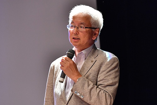 カシオ計算機執行役員生産本部長の矢澤篤志氏