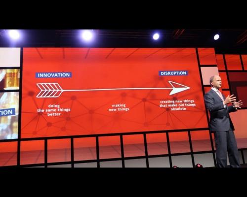 図5 「DISRUPTION(ディスラプション/破壊的イノベーション)」というキーワードを示す