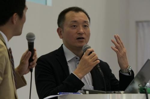 QDレーザの幸野谷信次取締役兼CFO(最高財務責任者)経営企画室長
