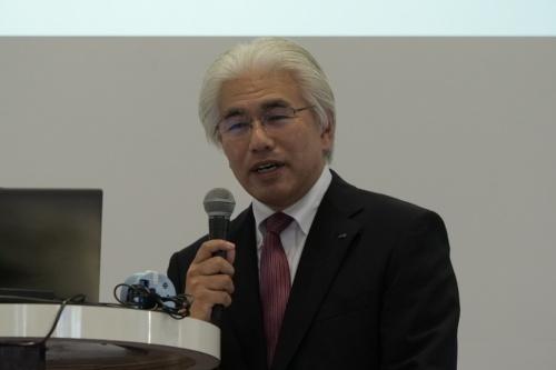 コアの新幸彦取締役専務執行役員ソリューション本部本部長