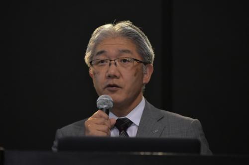 日立造船 常務執行役員 ICT推進本部長 島崎雅徳氏