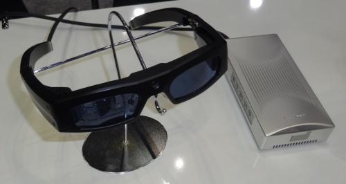 網膜走査型レーザーアイウェア