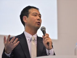 オムロン サイニックエックス代表取締役社長兼所長の諏訪正樹氏