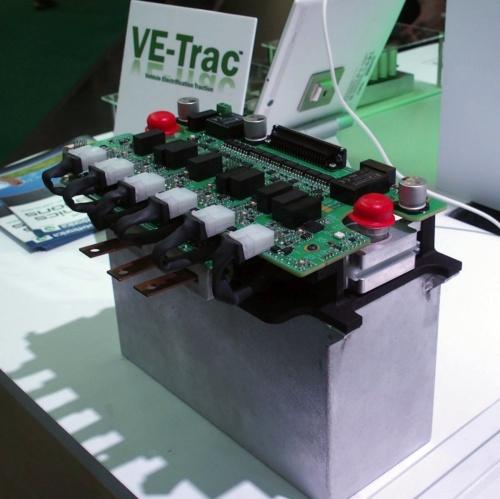 「VE-Trac Dual」で構築したインバーターのサンプル