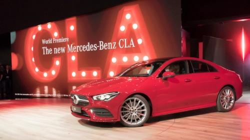 図3 CESで発表したMercedes-Benzブランドの新型「CLA」