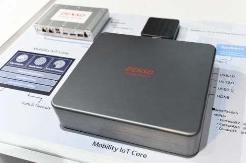 図1 デンソーが開発したMaaS向けの車載コンピューター「Mobility IoT Core」