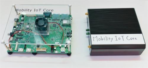 図2 前回の「CES 2018」で展示していたMobility IoT Core